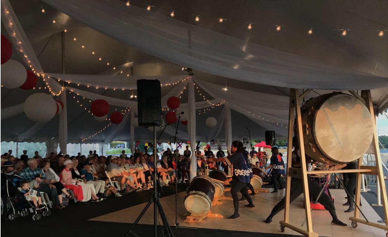 Black Ships Festival 2019 Drum Concert