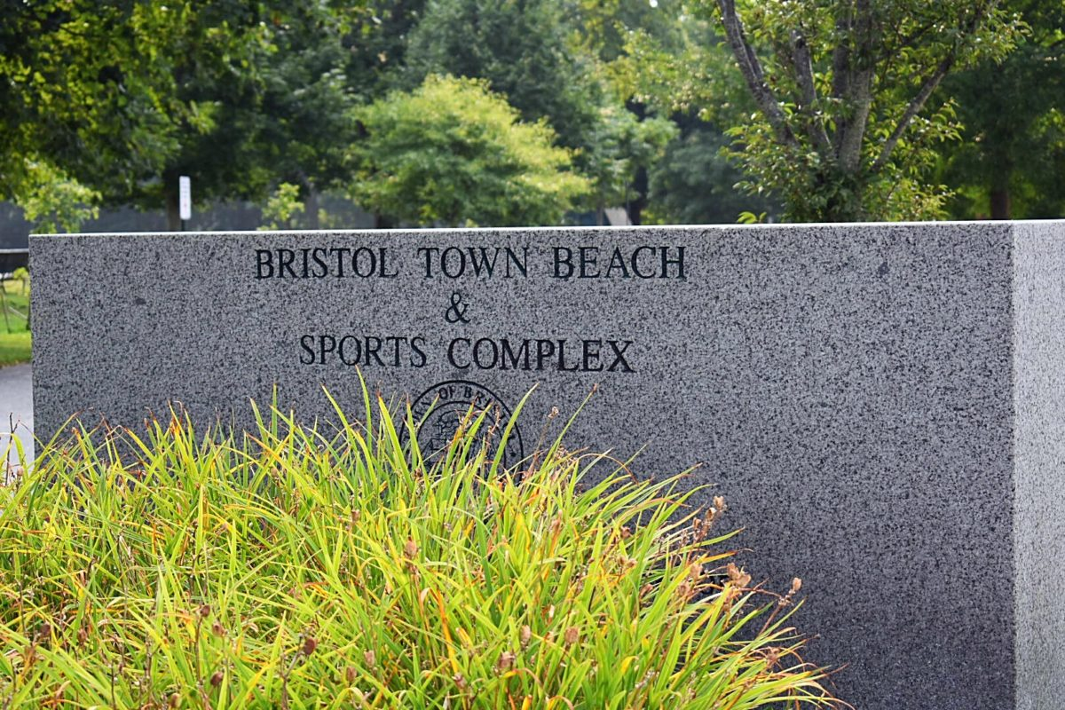 Town Beach and Sports Complex Sign