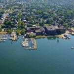 Bristol Harbor Aerial